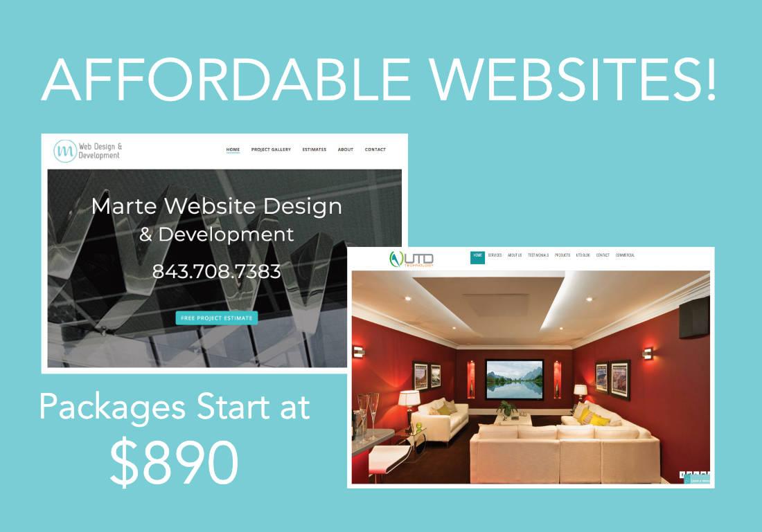Marte Web Design and Development