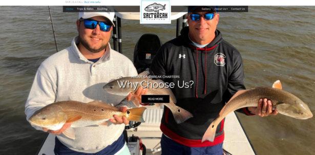 Saltbreak Charters Charleston Fishing Trips