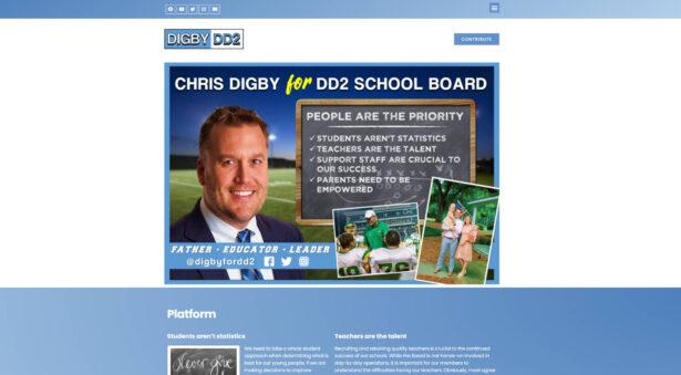 Chris Digby for DD2 School District Board